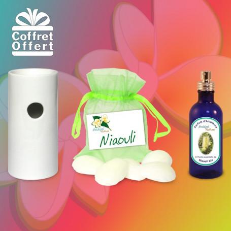 Coffret bien-être et ambiance Niaouli
