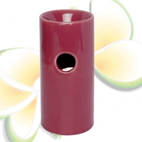 Brûle parfums haut vieux rose-prune