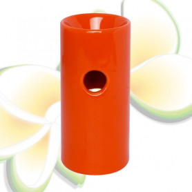 Brûle parfums haut orange