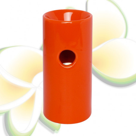 Brûle parfums haut orange