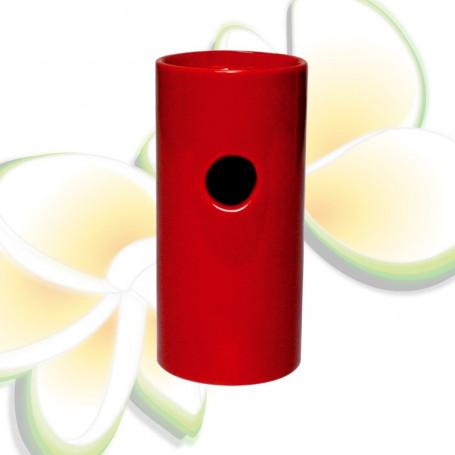 Brûle parfums haut rouge