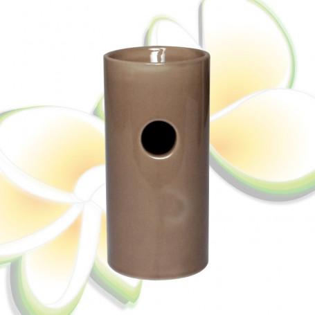 Brûle parfums haut beige/taupe
