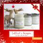 Coffret cadeau 3 bougies gourmandes