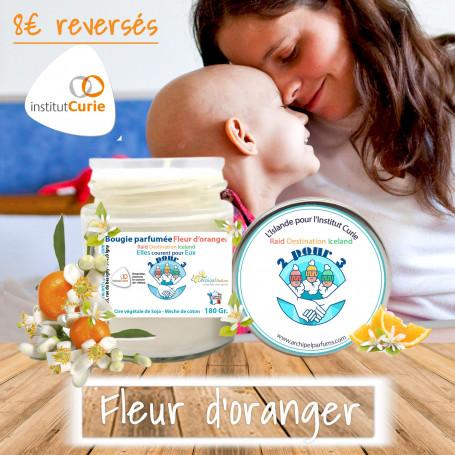 Bougie parfumée 2 for 3 Fleur d'Oranger